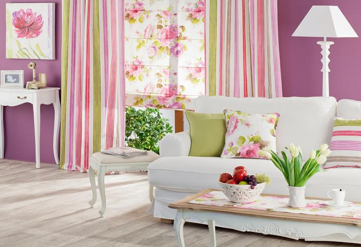 Ein sommerliches Wohnzimmer