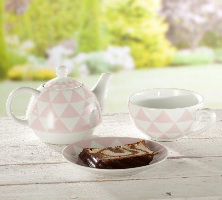 Teetrinken und Wohlfühlen