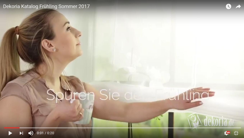 Dekoria Katalog Frühling Sommer 2017
