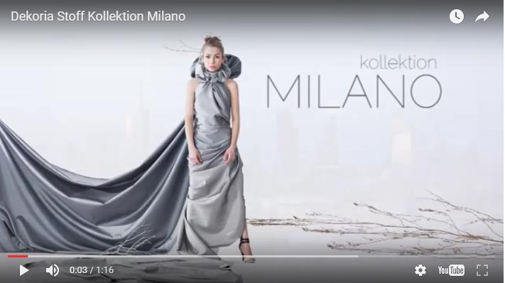 Neue Stoffkollektion Milano