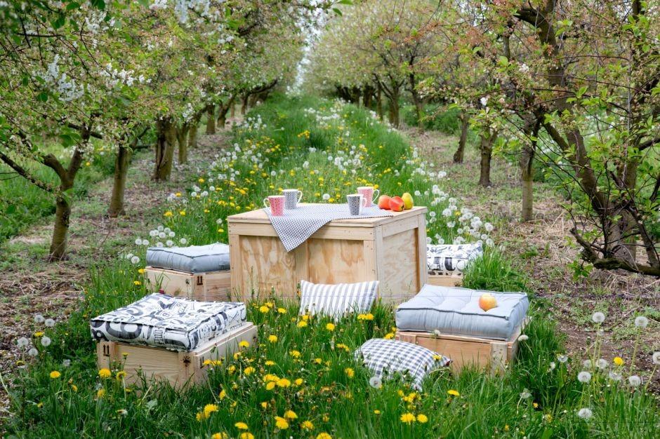 Traumhafte Terrassen, gemütliche Gärten