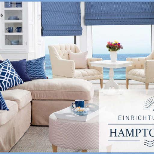 Ab in die Hamptons – mit Dekoria Zuhause im Urlaub