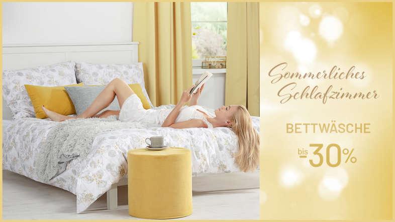Die Bettwäsche bis 30%
