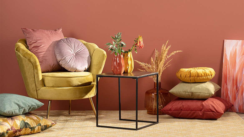 Herbstliche Farbkombis für ein gemütliches Wohn-Feeling!