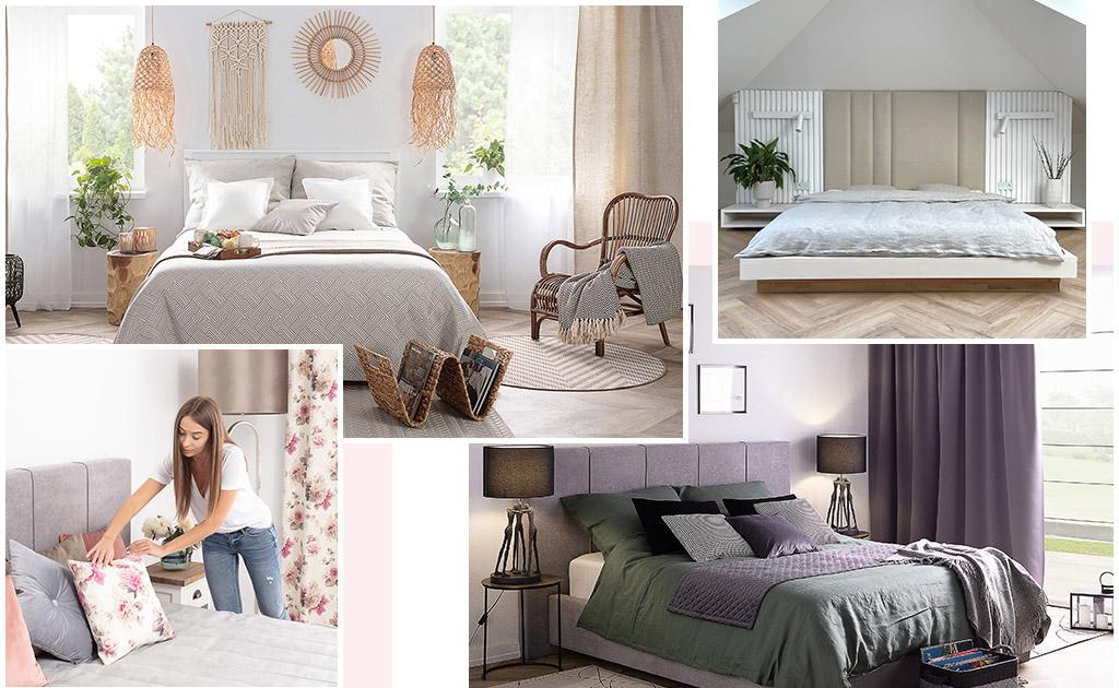 Ein Paradies zum Entspannen: Schlafzimmer 4-mal anders!